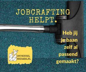 Jobcrafting helpt stofzuiger