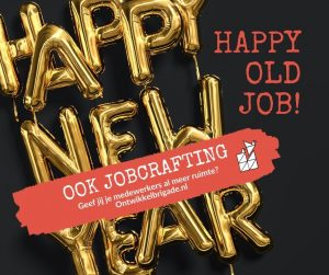happy old job - ook jobcrafting