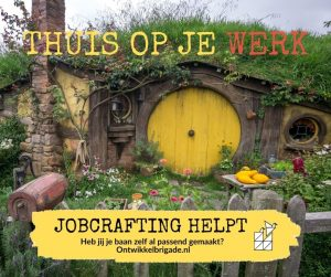 thuis op je werk jobcrafting helpt