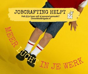 Meer lucht in je werk - jobcrafting helpt