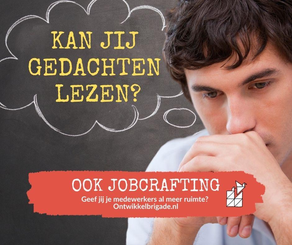 Kan jij gedachten lezen - ook jobcrafting