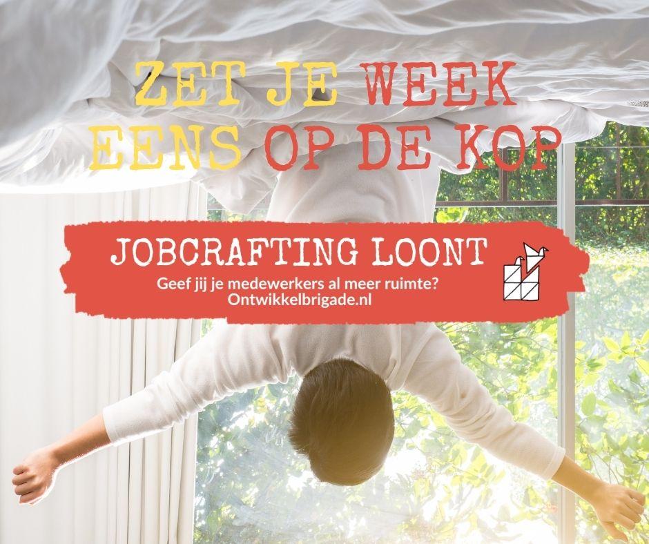 Zet je werkdag eens op de kop - jobcrafting loont